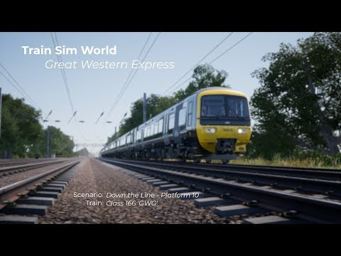 Train Sim World Great Western Express  Down the Line Platform 10
