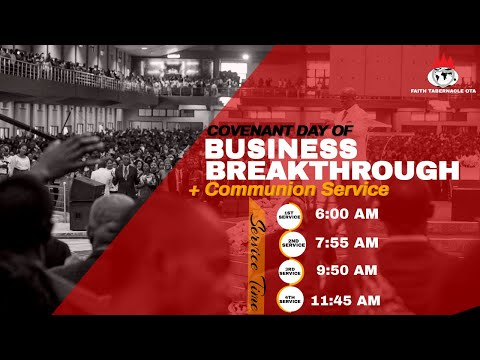 DOMI STREAM: COVENANT DAY OF BUSINESS BREAKTHROUGHS SERVICE  14, MARCH 2021  FAITH TABERNACLE OTA