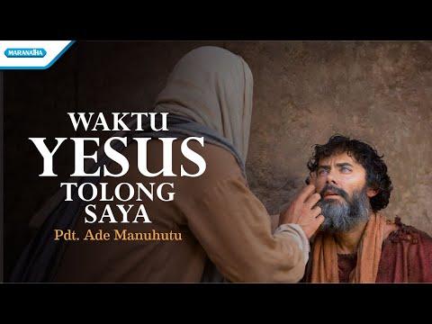 Waktu Yesus Tolong Saya - Ade Manuhutu (with lyric)