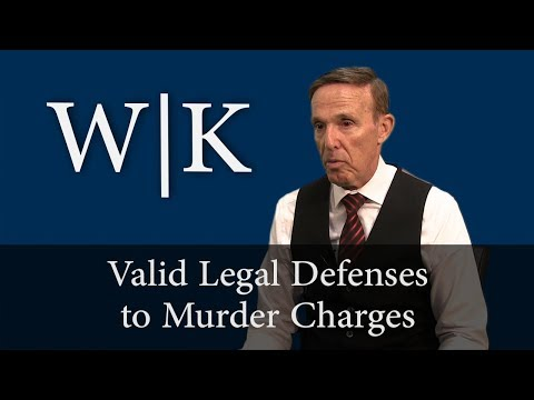 Valid Legal Defenses to Murder Charges (PC 187)