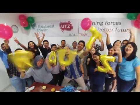 Rainforest Alliance - UTZ Merger Celebrations in Indonesia