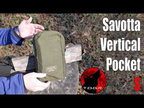 Savotta Vertical Pocket S Review - Pouch 9