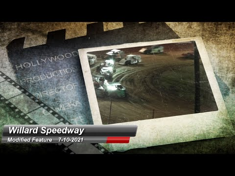 Willard Speedway - Modified Feature - 7/10/2021 - dirt track racing video image