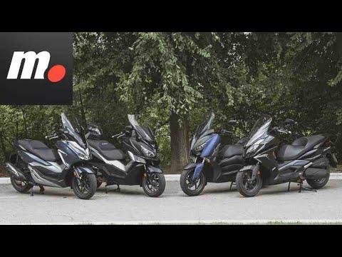 Comparativo Scooters GT 300 / Prueba / Test / Preview en español