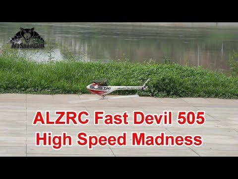 ALZRC Fast Devil 505 High Speed Flight over river - UCsFctXdFnbeoKpLefdEloEQ