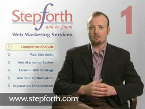 STEP 1 of the 6 Steps to Web Marketing Success