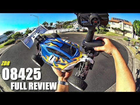ZD Racing 08425 1:8 Off-Road 4X4 Buggy - Full Review - [Unbox, Inspection, Bash Test, Pros & Cons] - UCVQWy-DTLpRqnuA17WZkjRQ