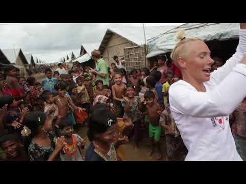 Clowner utan Gränser i Rakhine