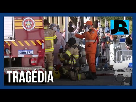 Incêndio atinge ala de covid-19 de hospital e causa quatro mortes em Aracaju