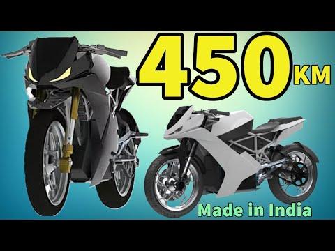 India's Longest Range Electric Bike - 450 KM   Surge 10K