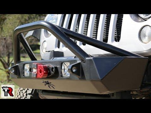 Poison Spyder Bruiser Bumper Review & Install