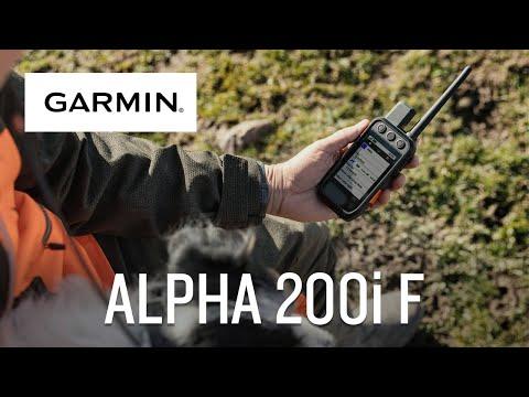 Garmin présente Alpha 200i F - Système de suivi et de dressage de chiens avec fonctions inReach