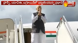 PM Narendra Modi Foreign Tour Details | 3 Countries and Schedule | Sakshi TV