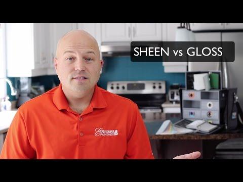 SHEEN vs GLOSS