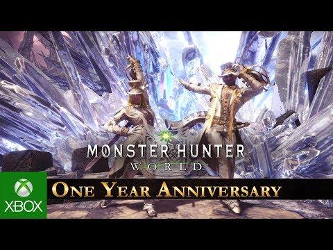 Monster Hunter: World - One Year Anniversary Celebration