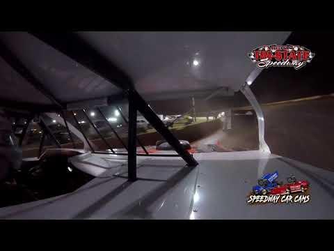 #79 JR Owens - USRA B-Mods - 9-11-2021 Tri-State Speedway - In Car Camera - dirt track racing video image