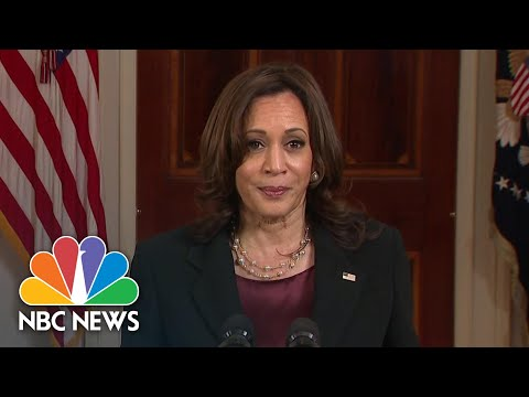 Vice President Harris Speaks After Derek Chauvin Verdict: 'We Feel A Sigh Of Relief' | NBC News