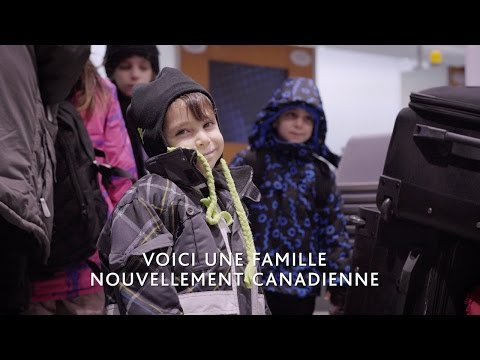 Air Canada réunit les familles : Rencontrez une des nouvelles familles canadiennes