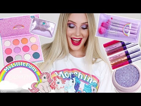 MY LITTLE PONY x Colourpop REVIEW & TUTORIAL | Lauren Curtis