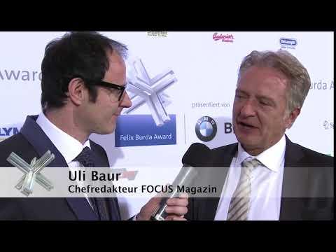 Uli Baur, verstorbener Chefredakteur des FOCUS, über die Felix Burda Stiftung