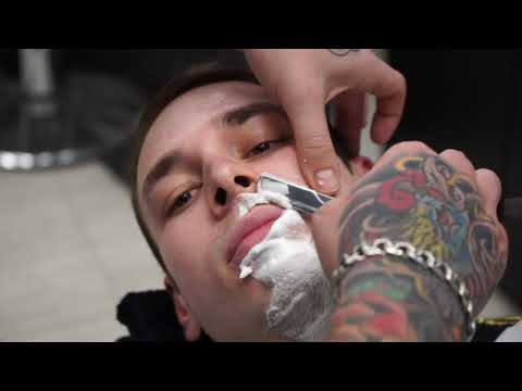 How to shave face step by step | пошаговое бритьё лица photo