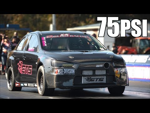 Fastest Evo X on the Planet! 10,700RPM on 75PSI | 1450HP Evo 8 Quickest in the USA!