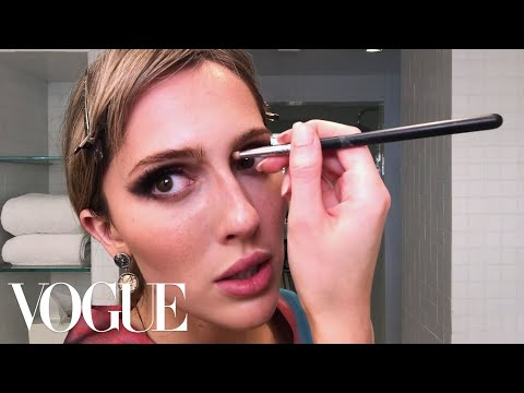 """TeddyQuinlivan'sGuide to Full """"Fantasy Glamour"""" Makeup   Beauty Secrets   Vogue"""