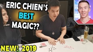 Magician REACTS to Eric Chien INFORMAL environment performing for Sacred Riana 2019