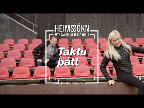 Heims-sókn - Bibba skorar á Gumma Ben!   Icelandair