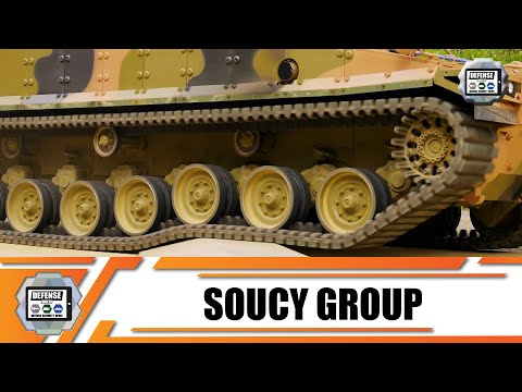 Soucy Defense develops latest generation of composite rubber tracks for military combat vehicles