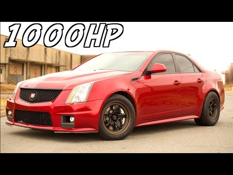 1000HP CTSV Blower + Nitrous Ride Along and Street Racing - ?The Daddy Caddy""