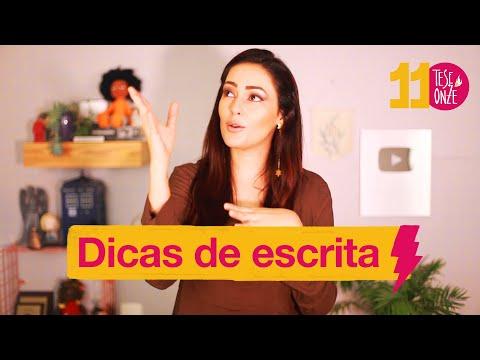 Dicas de ESCRITA | Dicas 003