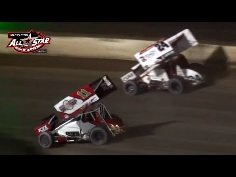 FloRacing All Star Sprints Feature | 4-Crown at Eldora Speedway - dirt track racing video image