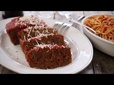 Ground Beef Recipes - How to Make Italian Meatloaf