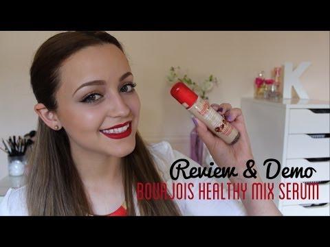 Review & Demo- Bourjois Healthy Mix Serum - UC8v4vz_n2rys6Yxpj8LuOBA