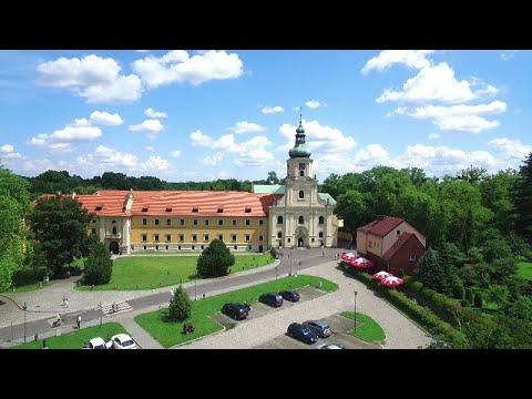 Zespół klasztorny w Rudach z powietrza: najpiękniejsze miejsca na Górnym Śląsku