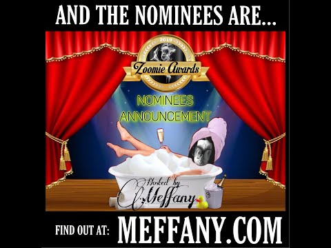 The Meffany Show announces the 2019 Zooomie Awards Nominees