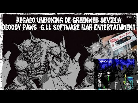 Unboxing y Gameplay: Bloody Paws (G.LL Software/Mar Entertainment)