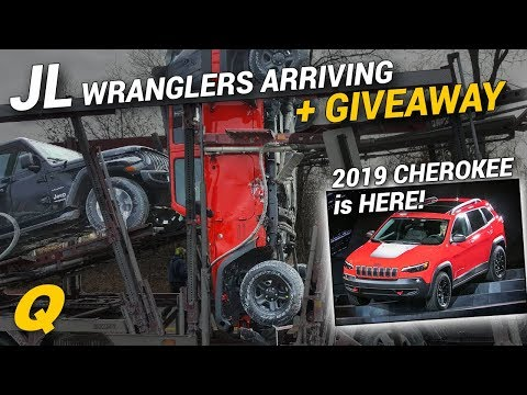 2019 Jeep Cherokee Revealed and 2018 Jeep Wrangler JL Arriving At Dealerships + Giveaway