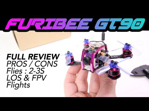 FuriBee GT90 Fire Dancer Mini FPV Racing Drone - NOT BAD! - Full Review - UCwojJxGQ0SNeVV09mKlnonA