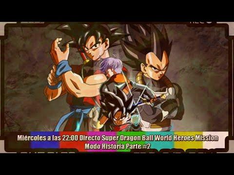 ➡ Directo  Super Dragon Ball Heroes World Mission Parte#2 ⬅