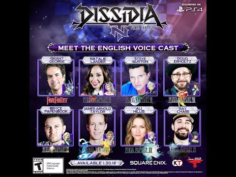 DISSIDIA FINAL FANTASY NT: Behind the English voicecast - UCH3sMKVJ2P7hm7ROBy5FHJg