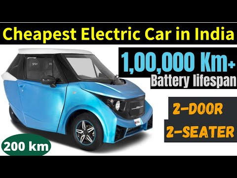 Cheapest 2 Seater Electric Car in India 2020/2021 - Strom R3