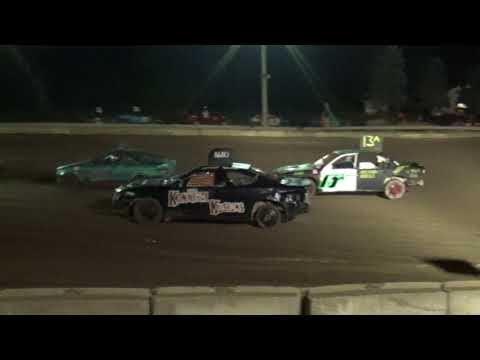 Michigan Bean Festival 2018 Bump and Run (compact cars)(stock) Heat 2 (Fairgrove,Michigan)
