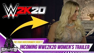 WWE 2K20 Women's Trailer Incoming? #WWE2K20 #WWE
