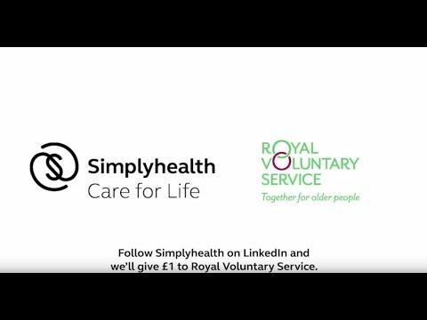 Simplyhealth LinkedIn and Royal Voluntary Service