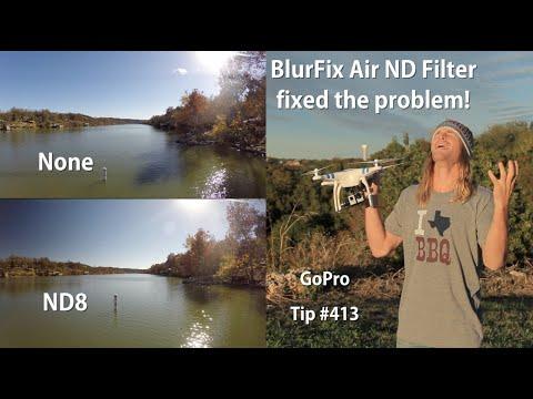 BlurFix Air ND Filter fix multi-copter propeller sun shadow problem - GoPro Tip #413 - UCTs-d2DgyuJVRICivxe2Ktg