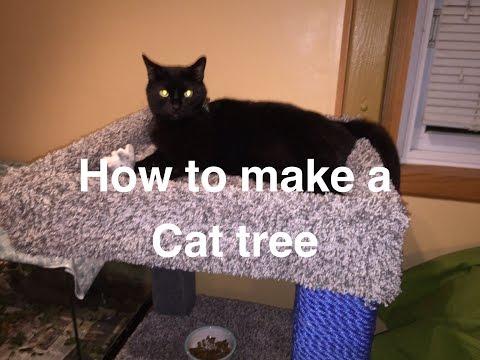 Build your own cat tree. - default