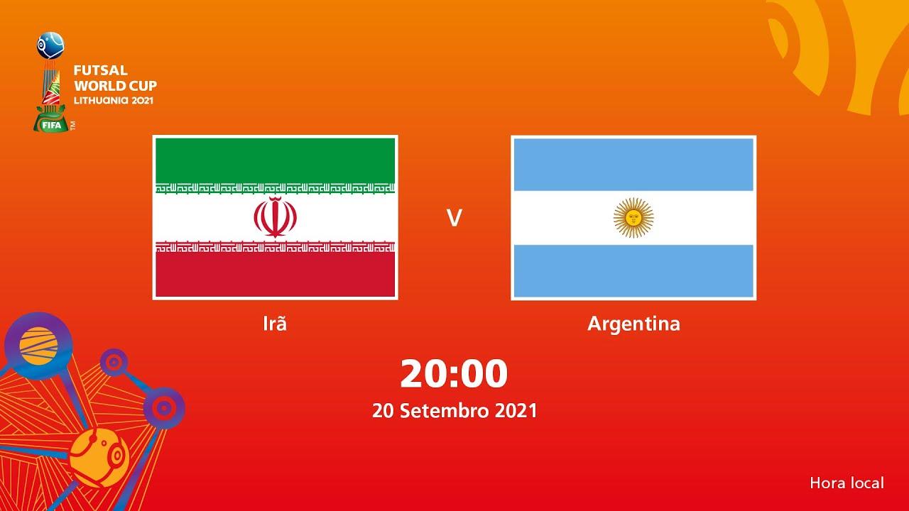 Irã v Argentina   Copa do Mundo FIFA de Futsal de 2021   Partida completa