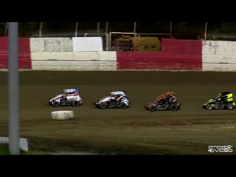 WIngless Mini Sprints Feature-East Bay Raceway Park 8/7/21 - dirt track racing video image